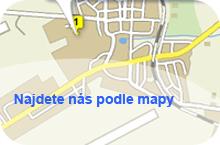 Najdete nás podle mapy